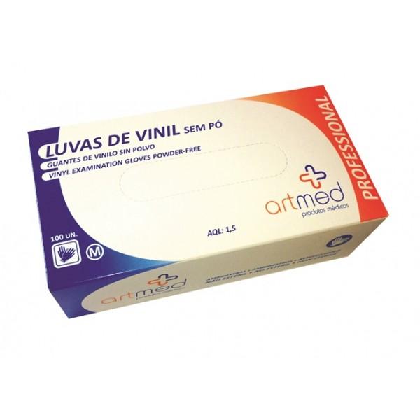 ALV1 . Luva Vinil c/ Pó
